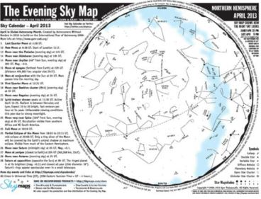 The Evening Sky Map — Best Bargain In Town
