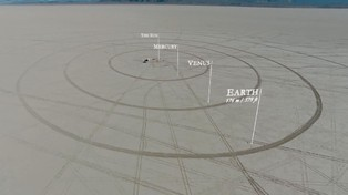 To Scale: The Solar System Drawn in the Nevada Desert – The Atlantic – The Atlantic