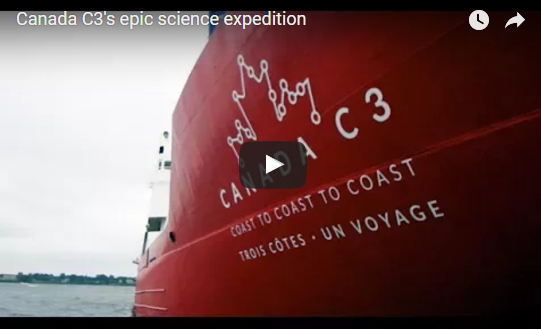 Canada C3's epic science expedition