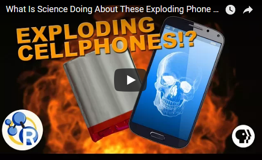 What Is Science Doing About These Exploding Phone Batteries?