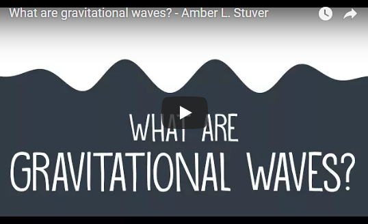 What are gravitational waves? – TED-Ed Amber L. Stuver