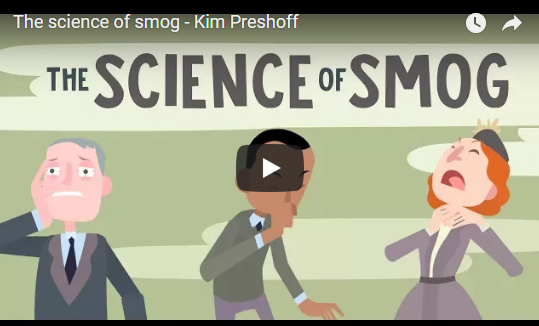 The science of smog – Kim Preshoff TED-Ed