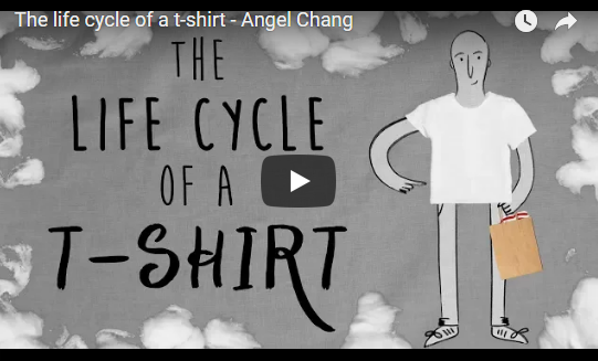 The life cycle of a t-shirt – TED-Ed, Angel Chang
