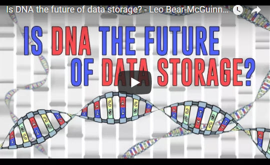 Is DNA the future of data storage? – TED- Ed Leo Bear-McGuinness