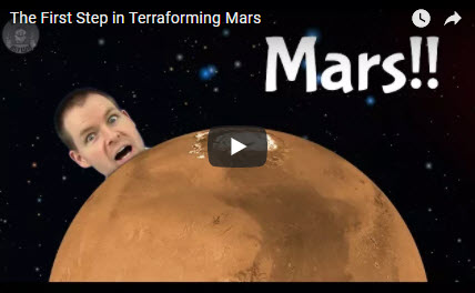 The First Step in Terraforming Mars
