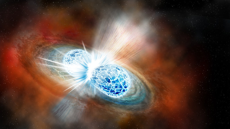 Collision Of 2 Neutron Stars – Seen For First Time –NPR