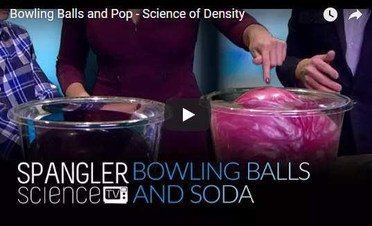 Bowling Balls and Pop – Science of Density – Steve Spangler