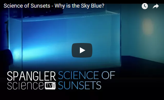 Science of Sunsets – Why is the Sky Blue?