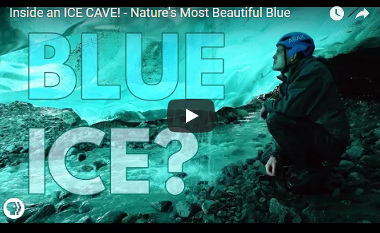 Inside an ICE CAVE! – Nature's Most Beautiful Blue