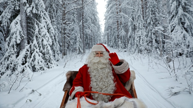 Santa could warp space to make deliveries in time -CBC Quirks and Quarks