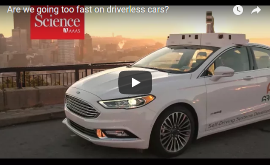 Are we going too fast on driverless cars?