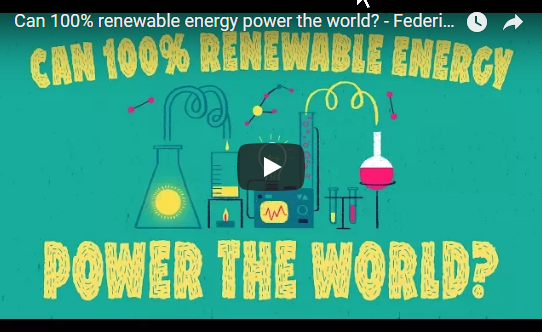 Can 100% renewable energy power the world? – TED Ed