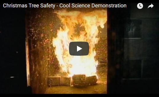 Christmas Tree Safety – Cool Science Demonstration