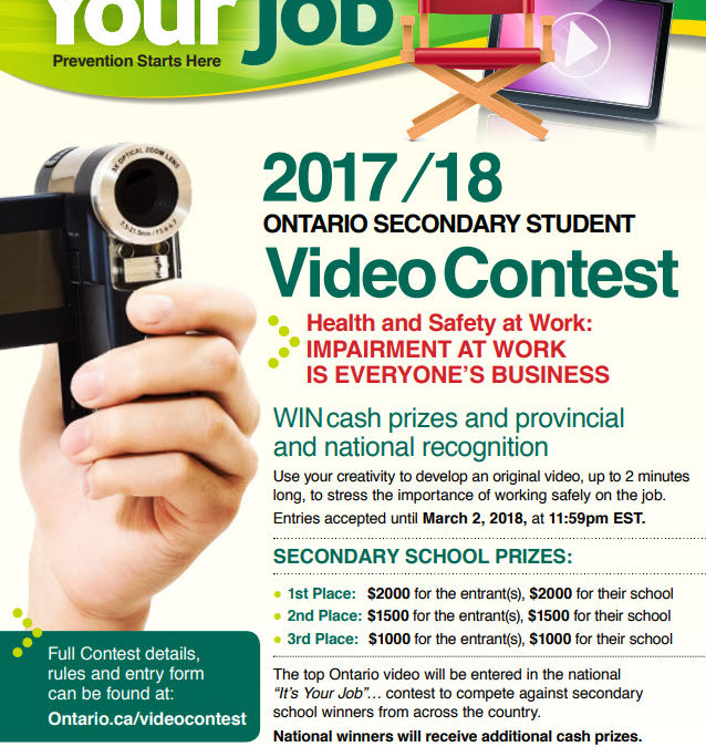 Health and Safety Video Contest