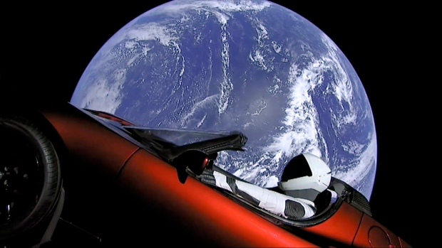 Starman and his Tesla could crash into Earth or Venus … eventually | CBC News