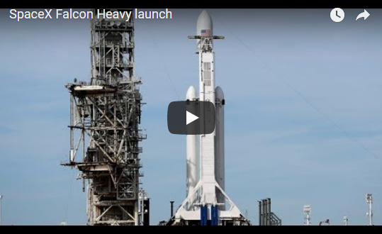 SpaceX's Falcon Heavy Rocket Launch | CBC News