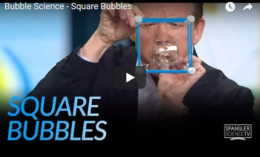 Bubble Science – Square Bubbles – Steve Spangler