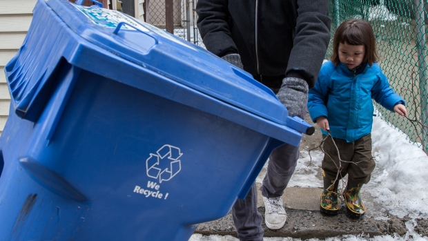 Your lifestyle is making blue box recycling unsustainable | CBC News