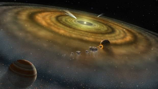 Scientists believe diamonds in meteorite hail from lost planet in our solar system | CBC News