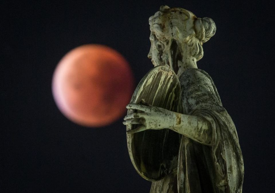 Don't Miss This Week's Deep Red Blood Moon – The Longest Lunar Eclipse Of This Century