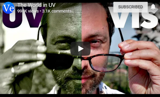 The World in UV – Veritasium