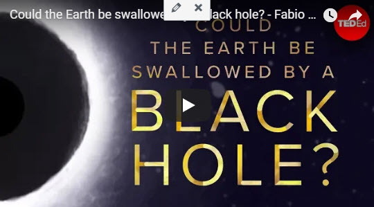 Could the Earth be swallowed by a black hole? – TED Talk by Fabio Pacucci