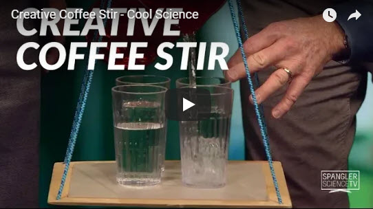 Creative Coffee Stir – Cool Science – by Steve Spangler