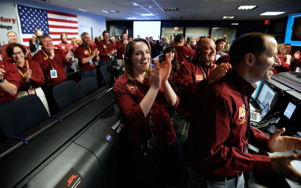 Touchdown on Mars: InSight probe completes historic landing – Globe and Mail