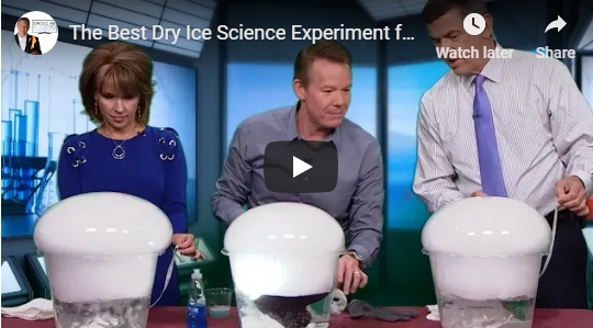 The Best Dry Ice Science Experiment for Halloween with Steve Spangler