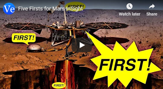 Five Firsts for Mars InSight – by Veritasium