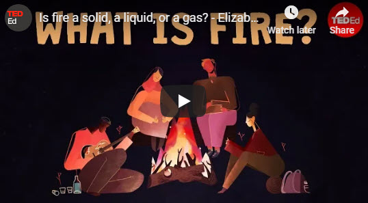 Is fire a solid, a liquid, or a gas? – TED Ed by Elizabeth Cox