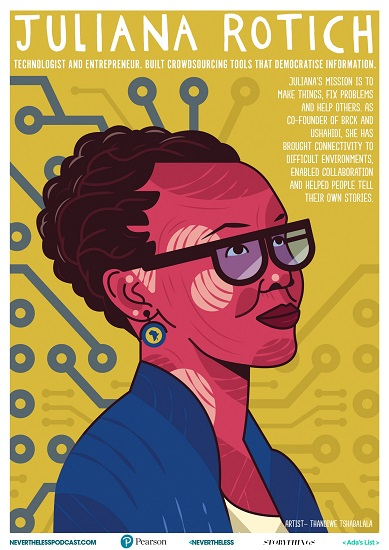 Free Posters Celebrating Women Role Models in Science, Technology, and Math – submitted by Sarah Hickey