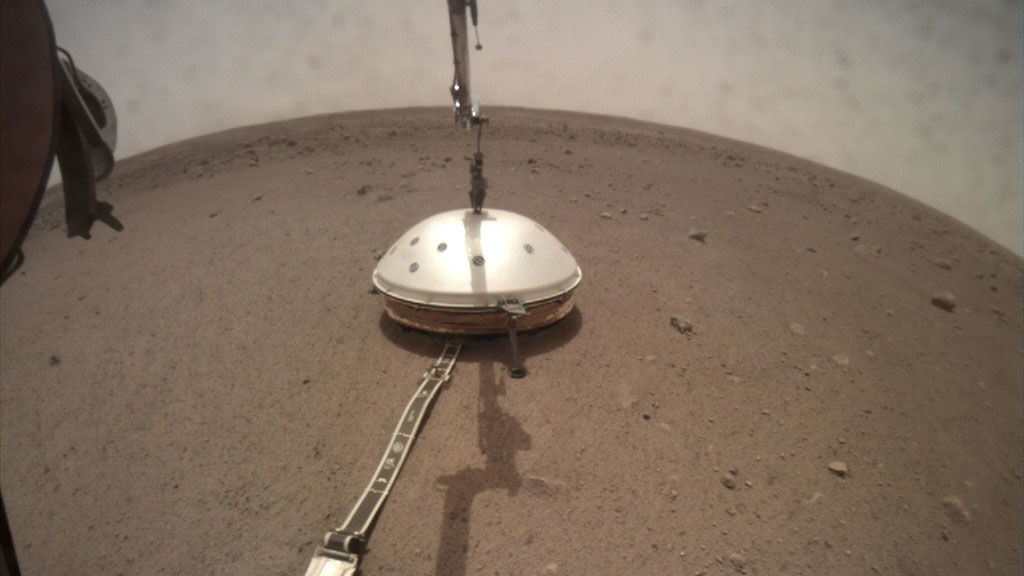 First marsquake detected by NASA's InSight mission | Science | AAAS