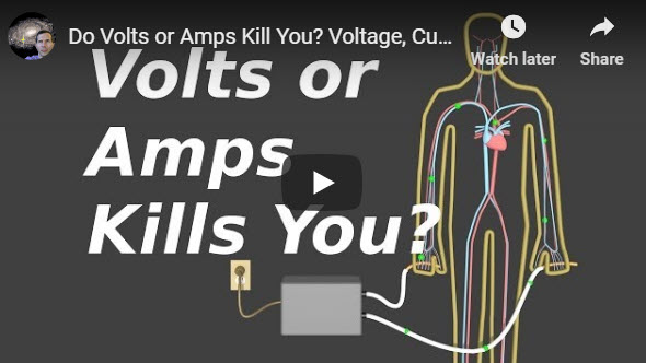 Do Volts or Amps Kill You? Voltage, Current and Resistance – YouTube