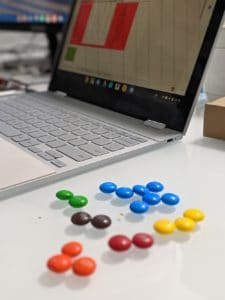 Chromebook Lesson Idea: Teaching the Scientific Method with M&M – submitted by Sandra Gambarotto