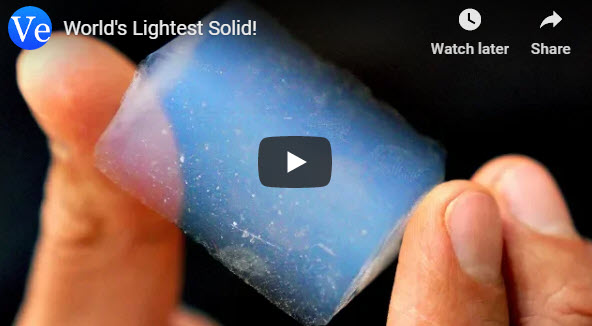 World's Lightest Solid! – YouTube