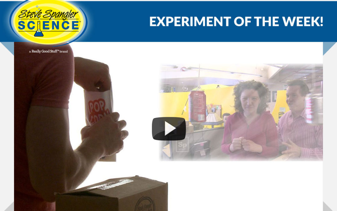 ? Experiment of The Week – Homemade Projector by Steve Spangler