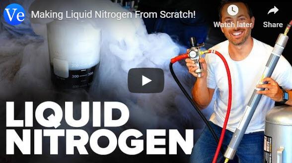 Making Liquid Nitrogen From Scratch! – Veritasium