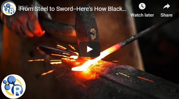 From Steel to Sword–Here's How Blacksmiths Mold Metal – YouTube
