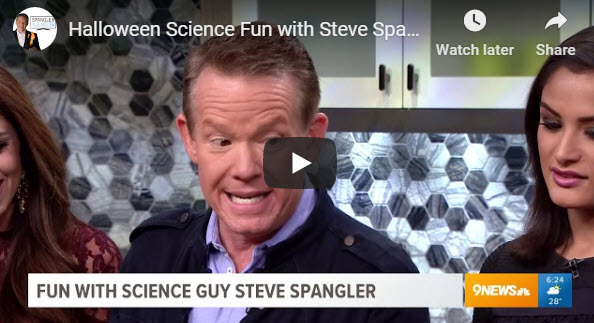 Halloween Science Fun with Steve Spangler on 9News – YouTube