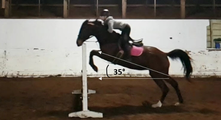 This Is Why … equestrians trust their lives to physics! – submitted by Joanne O'Meara
