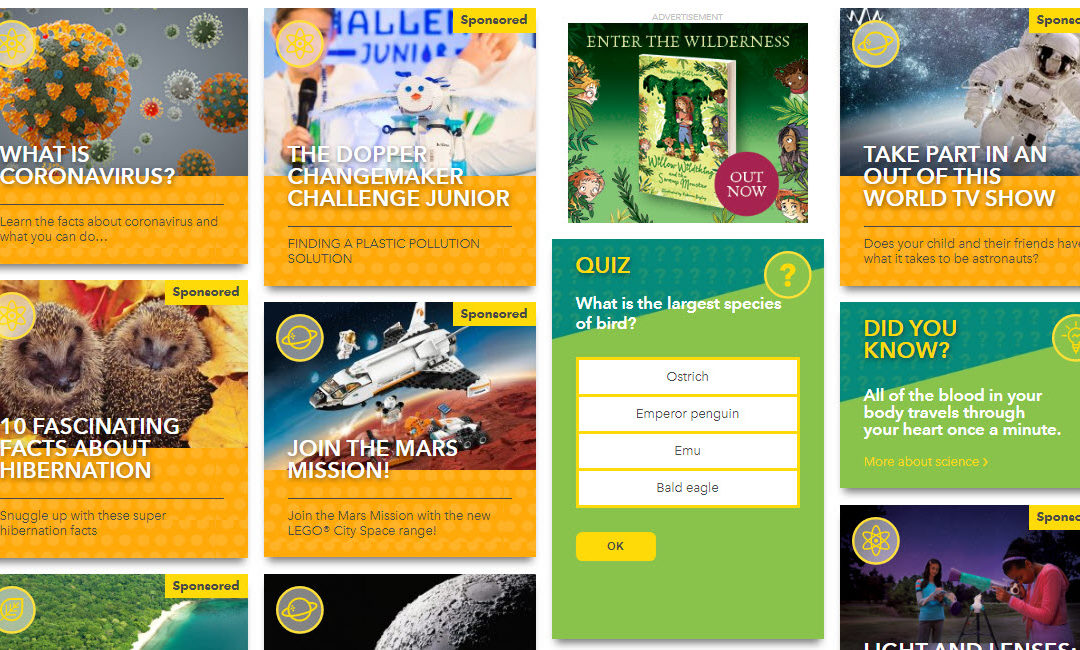 National Geographic for Kids – Great Site for the At-Home Learner