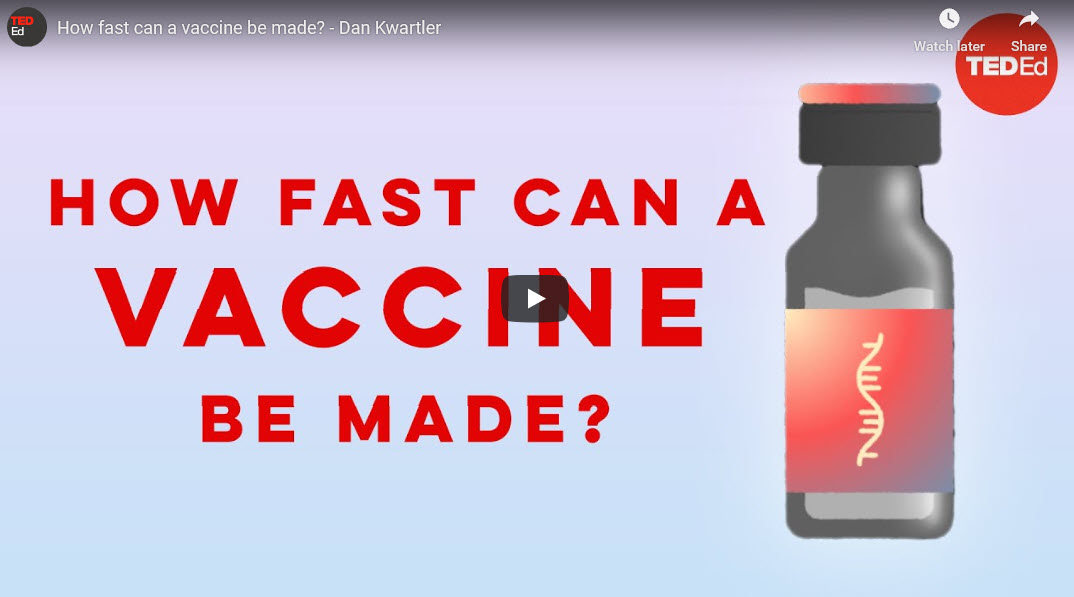 How fast can a vaccine be made? – TED Ed by Dan Kwartler