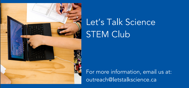 Let's Talk Science Club, Grades 4-6